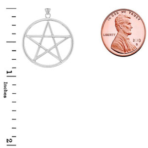 Small Pentagram Pendant in Gold (Yellow/Rose/White)