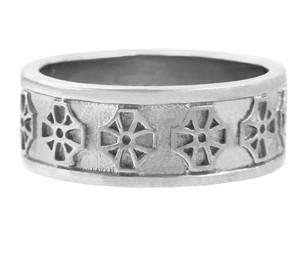 Celtic Band - Silver Celtic Cross Ring