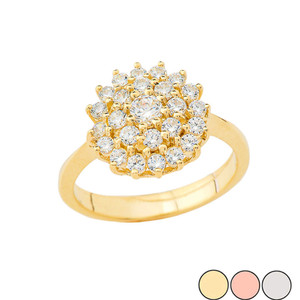Engagement/Anniversary Ring in Gold (Yellow/Rose/White)