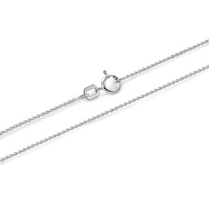 Sterling Silver Snowboarding 3D Charm Necklace