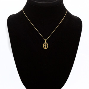 Gold Pharmacy Charm Necklace (Available in Yellow/Rose/White Gold)