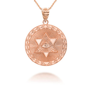 rose-gold-star-of-david-all-seeing-eye-medallion-coin-pendant-necklace