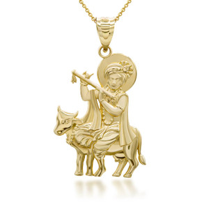 yellow-gold-lord-krishna-playing-flute-on-holy-cow-pendant-necklace