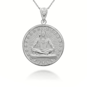 white-gold-lord-shiva-hindu-indian-god-of-destruction-and-meditation-coin-medallion-pendant-necklace