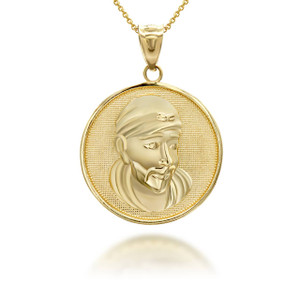 yellow-gold-sathya-sai-baba-indian-hindu-guru-coin-medallion-pendant-necklace