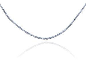 Box Link Sterling Silver Chain 0.97 mm