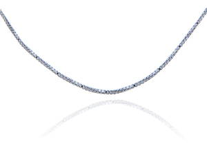 Sterling Silver Box Link Chain 0.97 mm