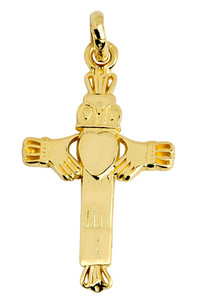 Claddagh Pendant Gold