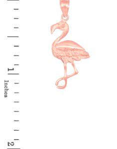 pink flamingo pendant