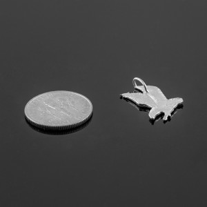 925 Sterling Silver Eagle Charm
