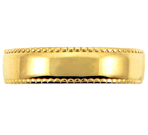 Gold Polished Toe Ring