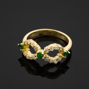 Emerald-green CZ