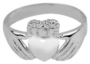 Silver Irish Claddagh Ring Ladies