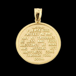 Two Sided U.S. Navy Insignia Coin Pendant