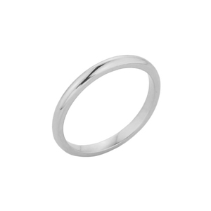 White Gold Knuckle Ring