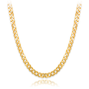 Solid Gold Men's Cuban Link Chain 10mm