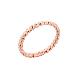 Rose Gold Ball Chain Bead Baby Ring