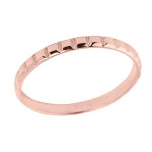 Rose Gold Classic Thumb Ring