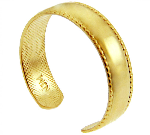 Bold Classic Yellow Gold Toe Ring