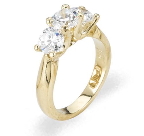 Ladies Cubic Zirconia Ring - The Neve Diamento