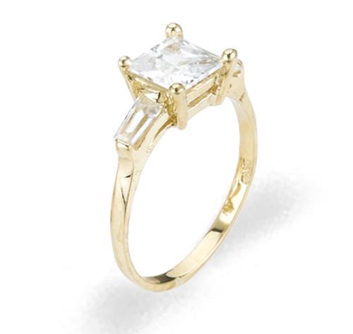 Ladies Cubic Zirconia Ring - The Vivianne Diamento