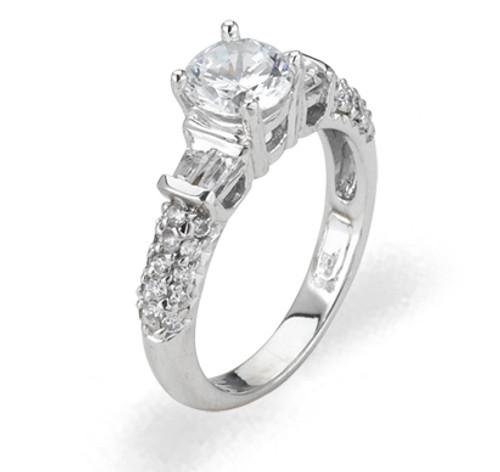 Ladies Cubic Zirconia Ring - The Ellis Diamento