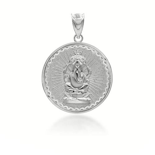 silver-lord-ganesha-vinayaka-ganapati-hindu-indian-elephant-god-of-fortune-coin-medallion-pendant