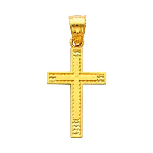 The Way of the Cross small pendant - 14K Gold