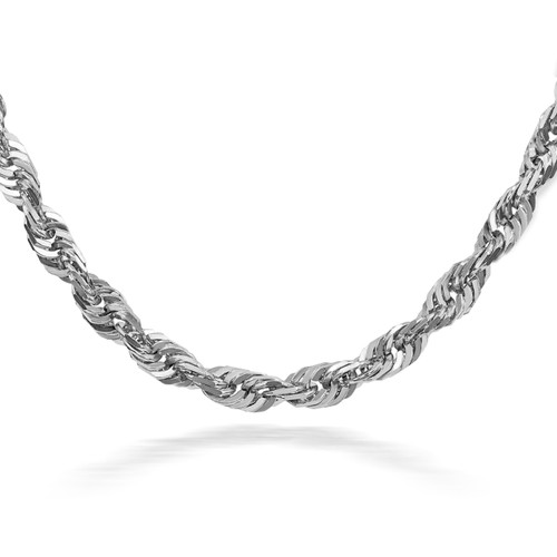 Sterling Silver Rope Chain 3.00 mm