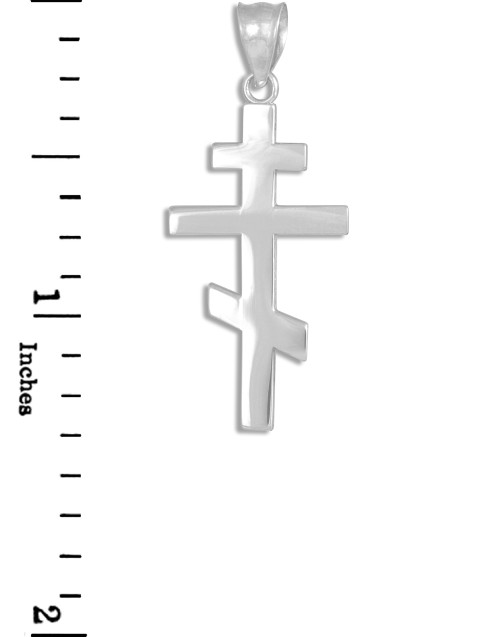 Sterling Silver 38mm Crucifix with 7.5 Charm Bracelet Jewels Obsession Crucifix Pendant