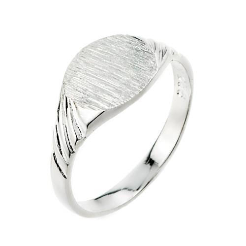 Sterling Silver  Signet Men's Ring