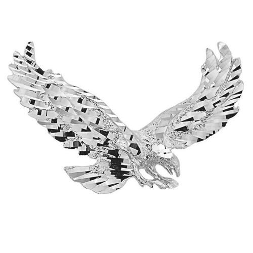 Sterling Silver Soaring Eagle Pendant