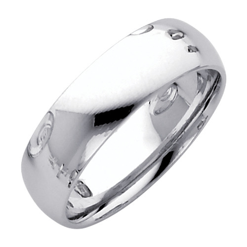 Sterling Silver Classic Thumb Ring 6MM