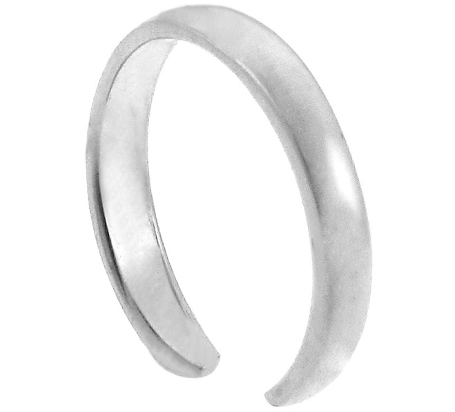 Silver Classic Toe Ring