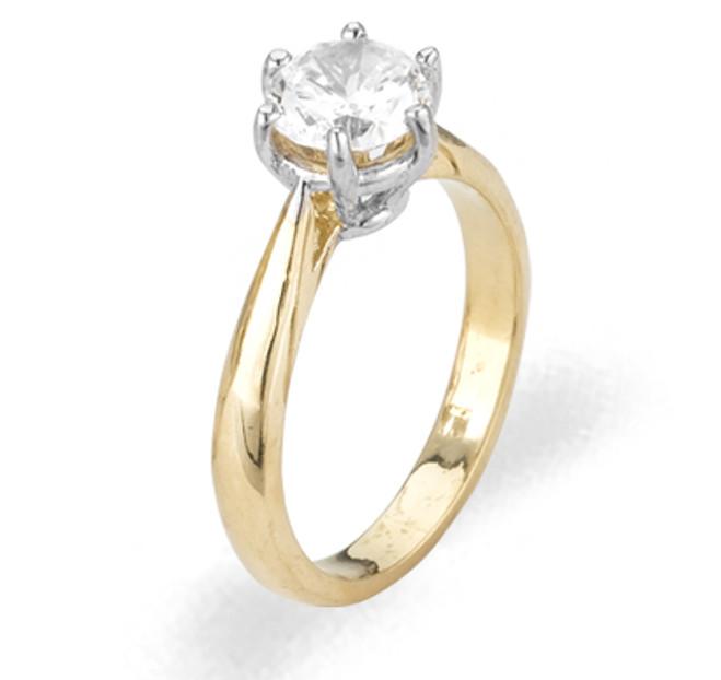 Ladies Cubic Zirconia Ring - The Yesenia Diamento