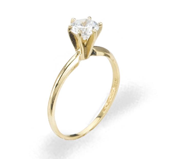 Ladies Cubic Zirconia Ring - The Caitlyn Diamento