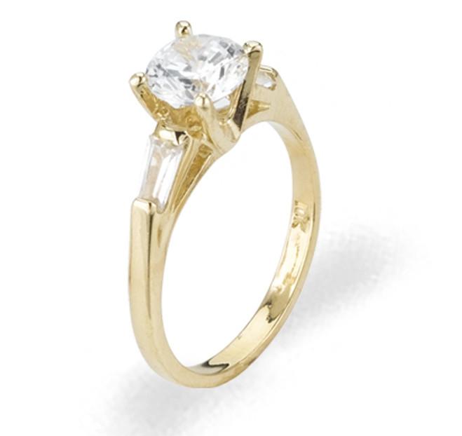 Ladies Cubic Zirconia Ring - The Ladonna Diamento