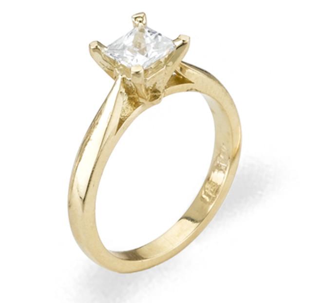 Ladies Cubic Zirconia  Ring - The Cadence Diamento