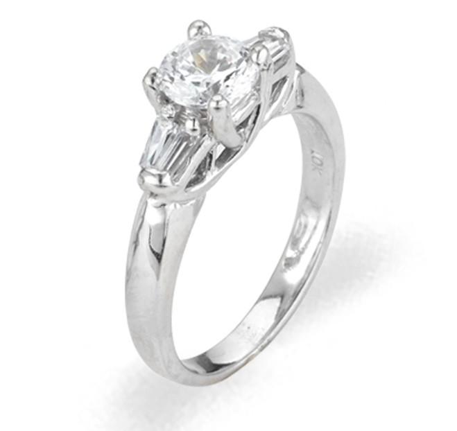 Ladies Cubic Zirconia Ring - The Bethan Diamento