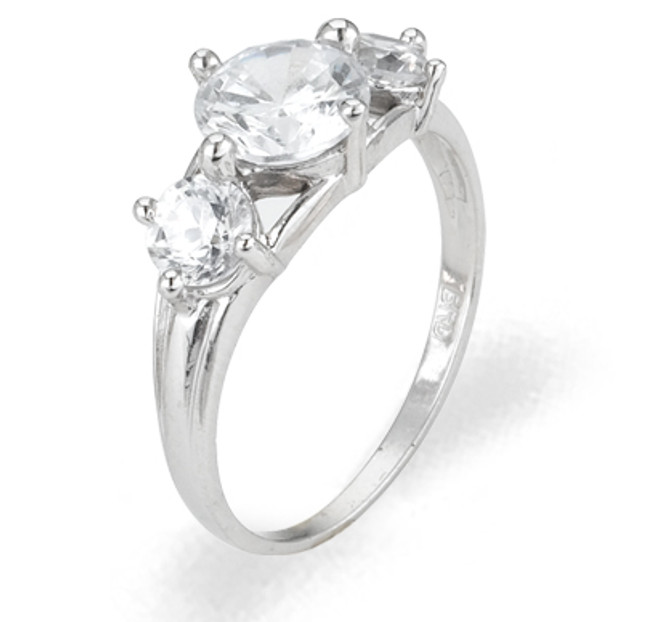 Ladies Cubic Zirconia Ring - The Taja Diamento