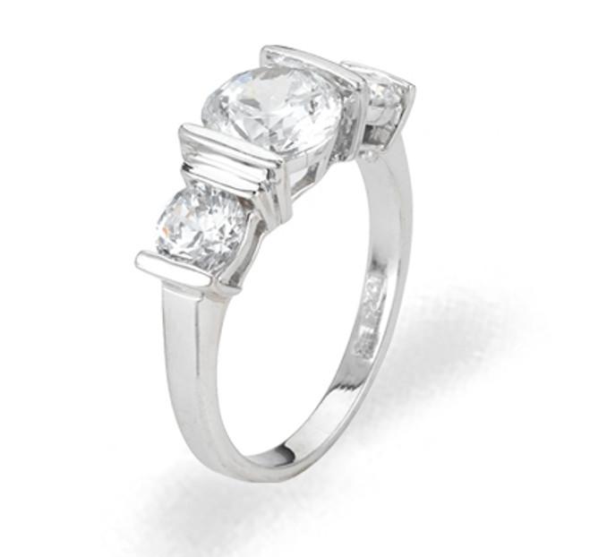 Ladies Cubic Zirconia Ring - The Sara Diamento II
