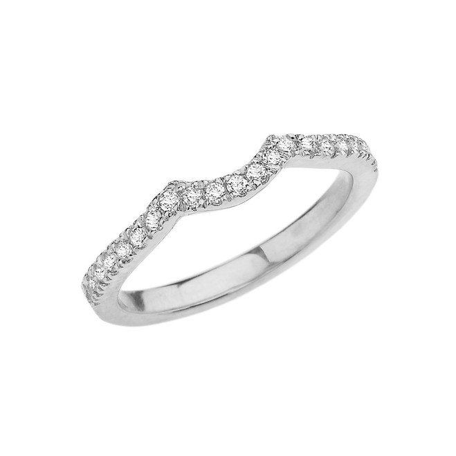 White Gold Engagement/Proposal Solitaire Band