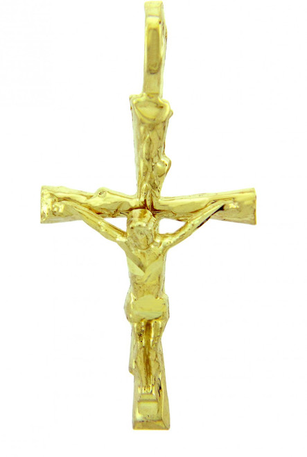Yellow Gold Crucifix Pendant