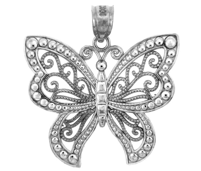 The White Gold  Butterfly