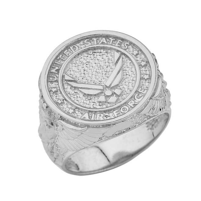US Air Force Ring in Sterling Silver