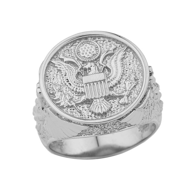 US Army Ring in Sterling Silver