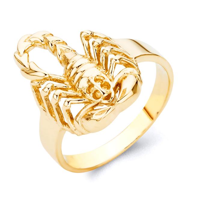 Exquisite Scorpion Ring in Gold