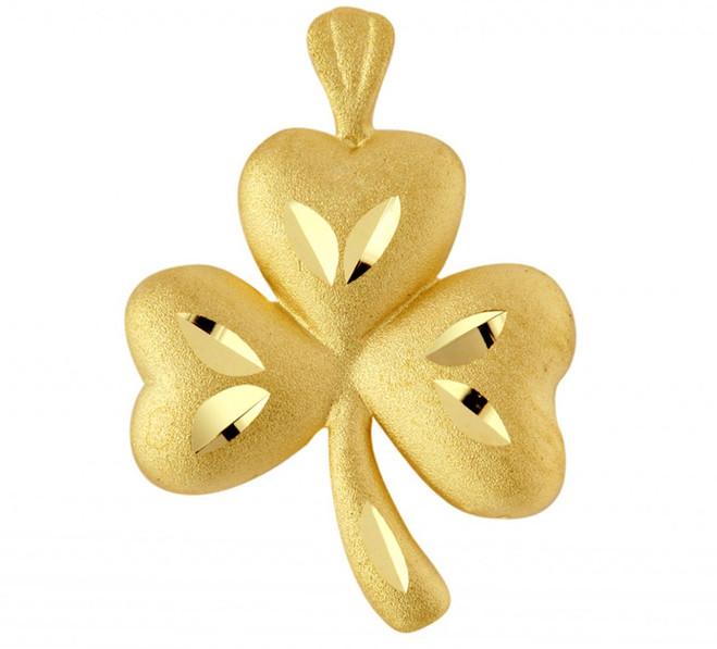 Gold Clover Pendant