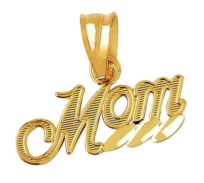 Mom Gold Pendant