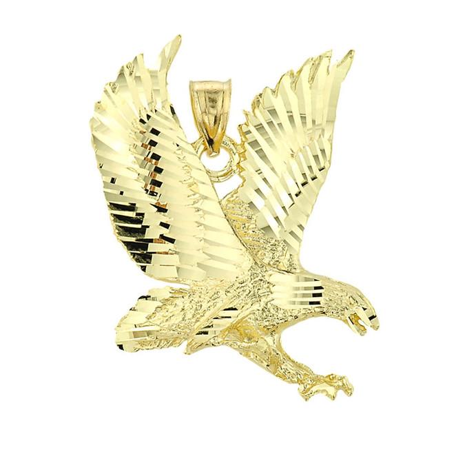 Gold Eagle Pendant